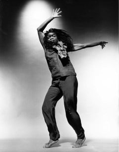 Dancer/choreographer Blondell Cummings, signed by Jack Mitchell