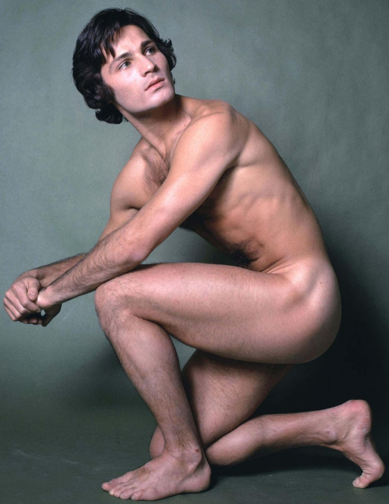 Dancer/choreographer & company founder Lar Lubovitch, nude study for After Dark - Photograph by Jack Mitchell