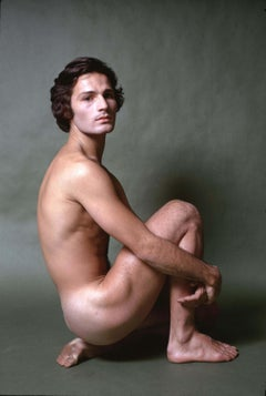 Dancer/choreographer & company founder Lar Lubovitch, nude study for After Dark