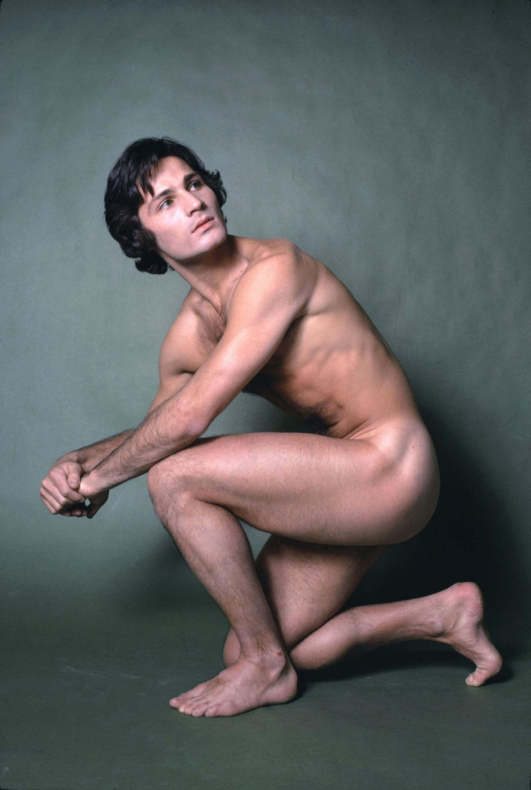 Jack Mitchell Nude Photograph -  Dancer/choreographer & company founder Lar Lubovitch, nude study for After Dark