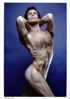 Dancer/choreographer Doug Benz, nude study