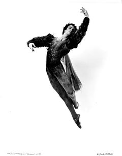Dancer/Choreographer Kevin McKenzie performing 'Dream', signed by Jack Mitchell