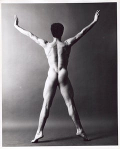Dancer & Choreographer Louis Falco nude figure study