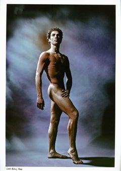 Dancer/choreographer Louis Falco posing nude