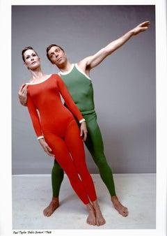 Dancer/choreographer Paul Taylor & Bettie de Jong performing 'Public Domain'