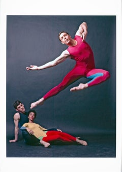 Dancer/choreographer Paul Taylor & his company performing repertory
