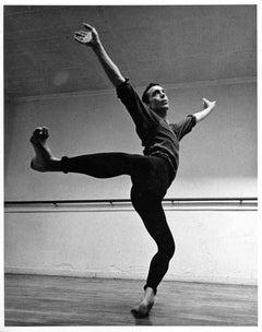 Dancer/Choreographer Paul Taylor Rehearsing