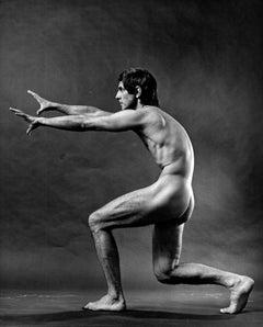 Dancer Derek Rencher, nude, signed by Jack Mitchell