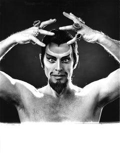 Dancer Derek Rencher, portrait for After Dark magazine signed by Jack Mitchell
