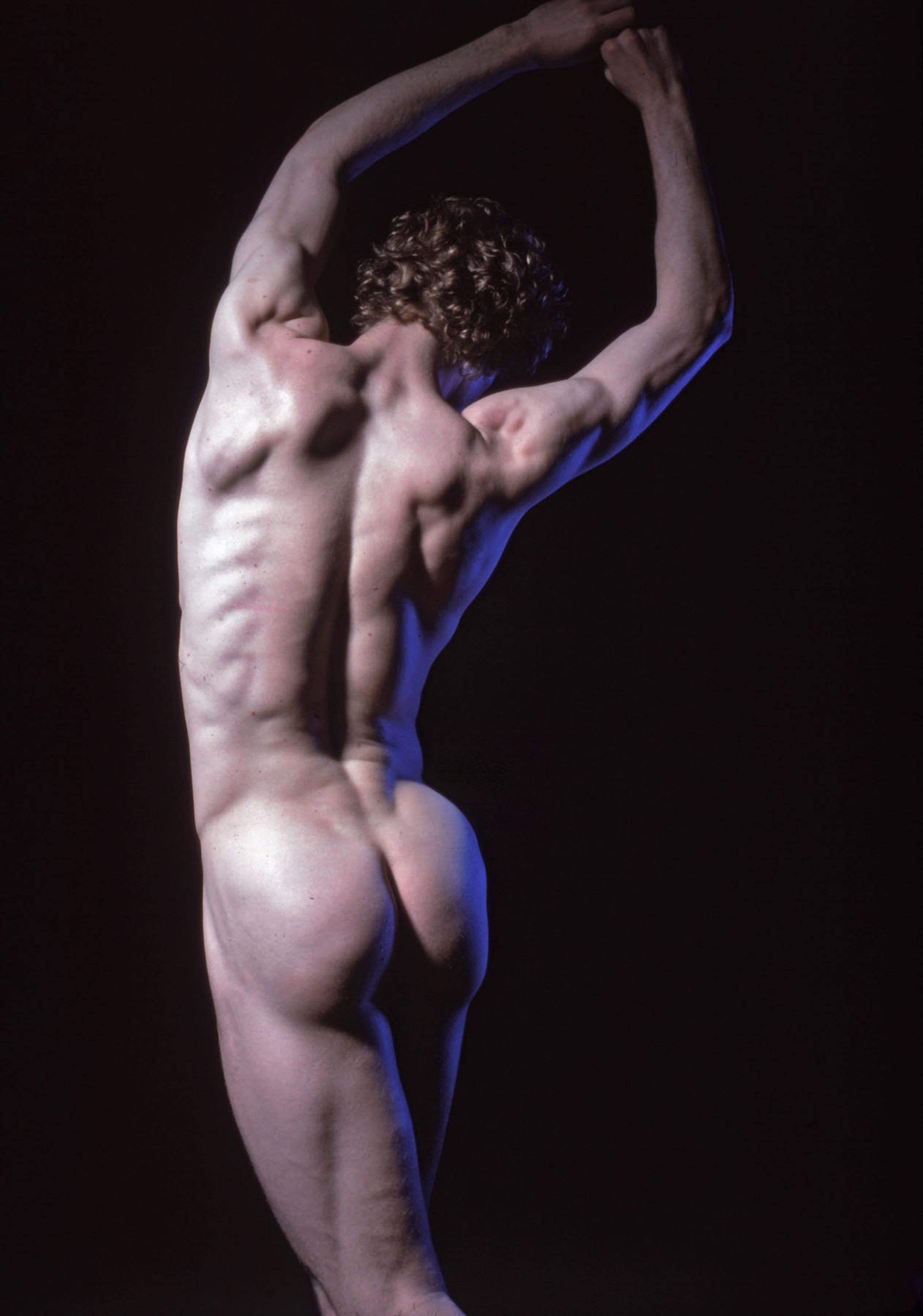 Dancer Edmond LaFosse, nude, signed by Jack Mitchell