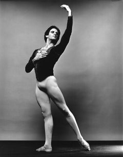 Dancer Fernando Bujones, photographed for Dance Magazine, signed by Mitchell