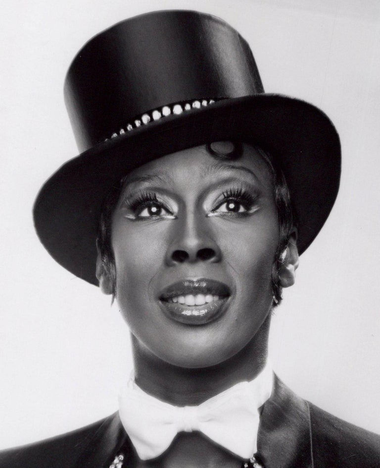 Dancer Judith Jamison in costume for the Broadway musical 'Sophisticated Ladies' - Photograph by Jack Mitchell