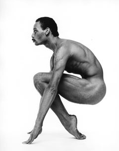 Dancer Kevin Brown, photographed nude for After Dark magazine, signed by Jack