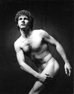 Dancer Leland Schwantes nude for After Dark  magazine
