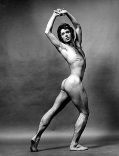 Dancer Manny Rowe, nude, signed by Jack Mitchell