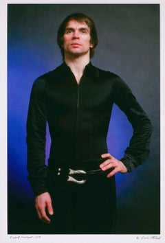Dancer Rudolf Nureyev photo for 'After Dark' cover story signed by Jack Mitchell
