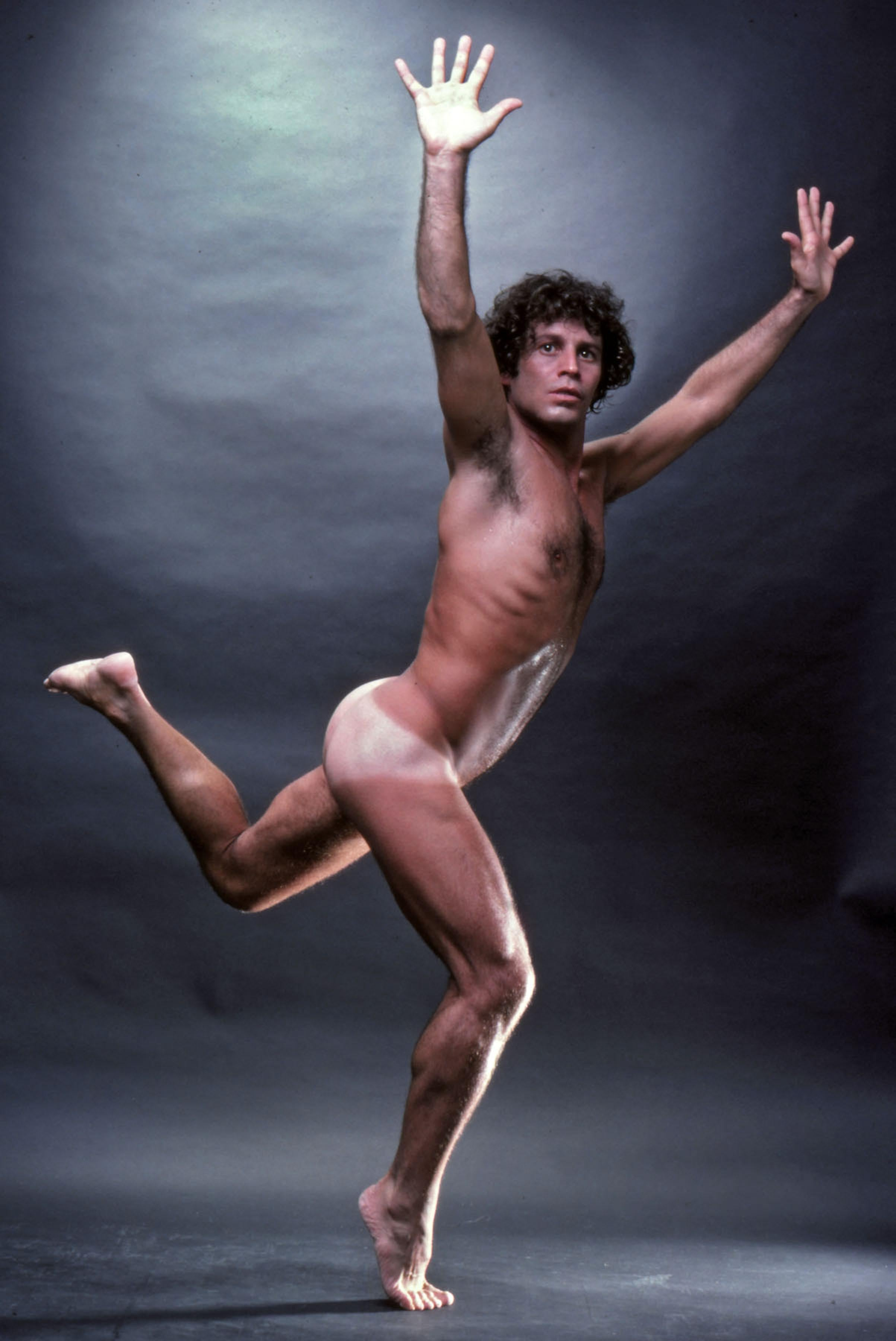 Dancer Sal Pernice, nude, signed by Jack Mitchell