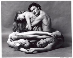 Dancers Lar Lubovitch, Jeanne Solan, Sally Trammell & Ernest Pagnano performing