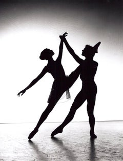 Dancers Silhouette, signed by Jack Mitchell