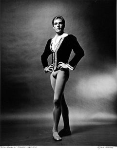 Danish dancer/choreographer Erik Bruhn in 'Giselle',  Signed by Jack Mitchell