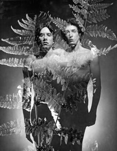 David Boyce & Manuel Gonzalez multiple exposure, nude, signed by Jack Mitchell