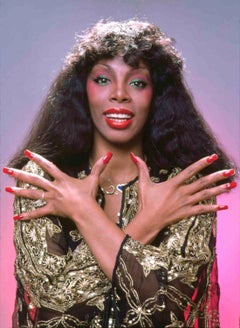 Donna Summer, Queen of Disco photographed for 'After Dark' magazine cover story