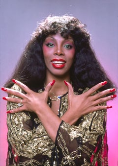 "Donna Summer, 'Queen of Disco Portrait', Color 17 x 22"" Exhibition Photograph"