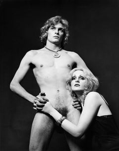 Dorian Gray & Candy Darling nude for After Dark magazine signed by Jack Mitchell