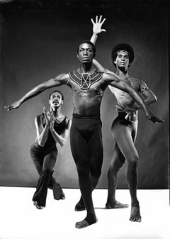 Dudley Williams, Elbert Watson and Clive Thompson in Ailey's 'Three Black Kings'