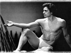 "Edward Villella in New York City Ballet's Dance/Drama ""Watermill"" signed by Jack"