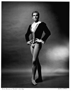 Erik Bruhn in American Ballet Theater's 'Giselle', signed by Jack Mitchell