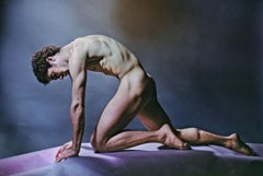 Famed Dancer/Choreographer Louis Falco, nude study