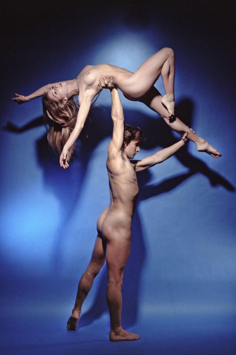 Jack Mitchell Nude Photograph - Famed dancers Julio Bocca & Eleonora Cassano nude for 'Playboy' magazine