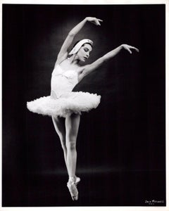 Famed Native American Ballerina Maria Tallchief performing 'Swan Lake'