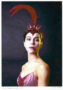 Famed Native American Ballerina Maria Tallchief, signed by Jack Mitchell