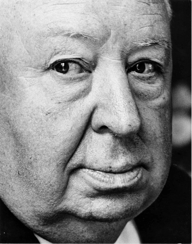Film Director Alfred Hitchcock, Portrait taken in Manhattan promoting 'Frenzy'
