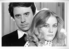 Film director Peter Bogdanovich and actress Cybill Shepherd