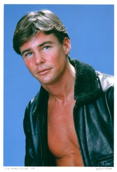 Film & Television star Jan-Michael Vincent, signed by Jack Mitchell