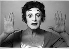 "French actor and mime Marcel Marceau as ""Bip the Clown"""