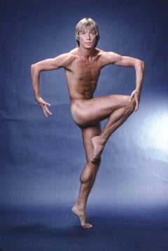 Harkness Ballet Dancer Dale Talley, nude study for After Dark