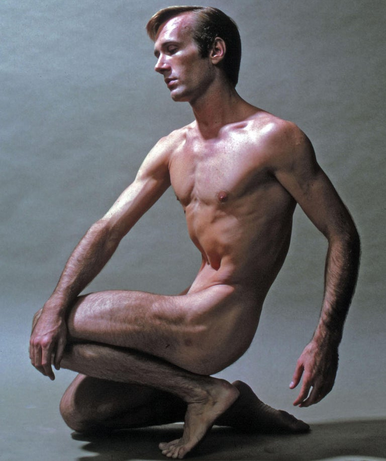 Harkness Ballet dancer Roderick Drew, nude, signed by Jack Mitchell For Sale 1