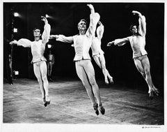 Harkness Ballet principal dancers Roderick Drew & Richard Wolf performing