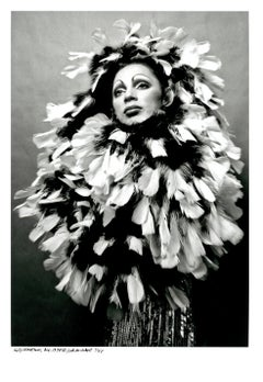 Holly Woodlawn B&W Limited Estate Edition Jack Mitchell Photograph