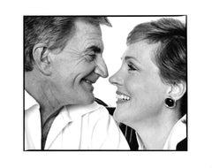 Husband & Wife Filmmaker Blake Edwards & Actress Julie Andrews, double portrait