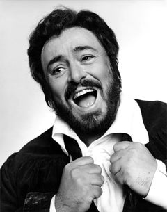 Italian Operatic Tenor Luciano Pavarotti