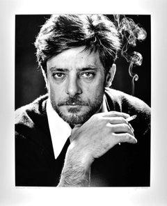 Italian 'Seven Beauties' actor Giancarlo Giannini, signed exhibition print