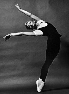 Joffrey Ballet dancer Robert Blankshine performing, signed by Jack Mitchell