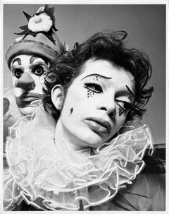Joffrey Ballet dancers in costume for 'The Clowns'