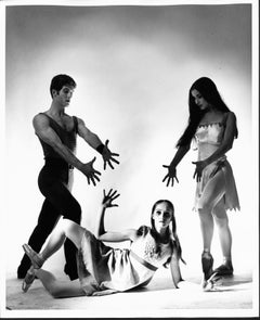 Joffrey Ballet Dancers Richard Gain, Lisa Bradley & Zelma Bustillo in 'Incubus'