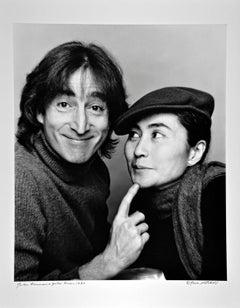 John Lennon and Yoko Ono, Photographed November 2, 1980, Signed